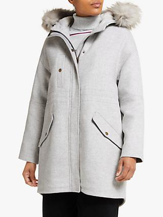 Collection WEEKEND by John Lewis Parka, Grey Marl