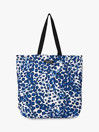 Whistles Ludlow Printed Tote Bag, Blue/Multi