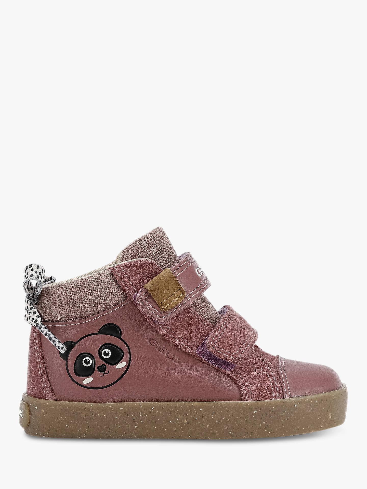 Geox x World Wildlife Fund Children's Kilwi Shoes, Dark Rose