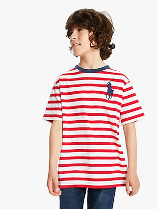5398b7410 Boys' Shirts & Tops | T-Shirts & Polo Shirts | John Lewis & Partners