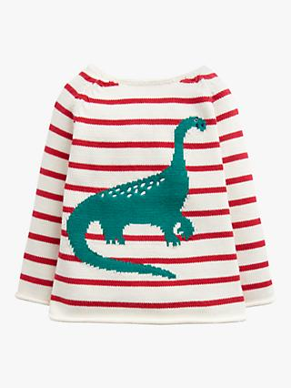 Baby Joule Barney Jumper, Red