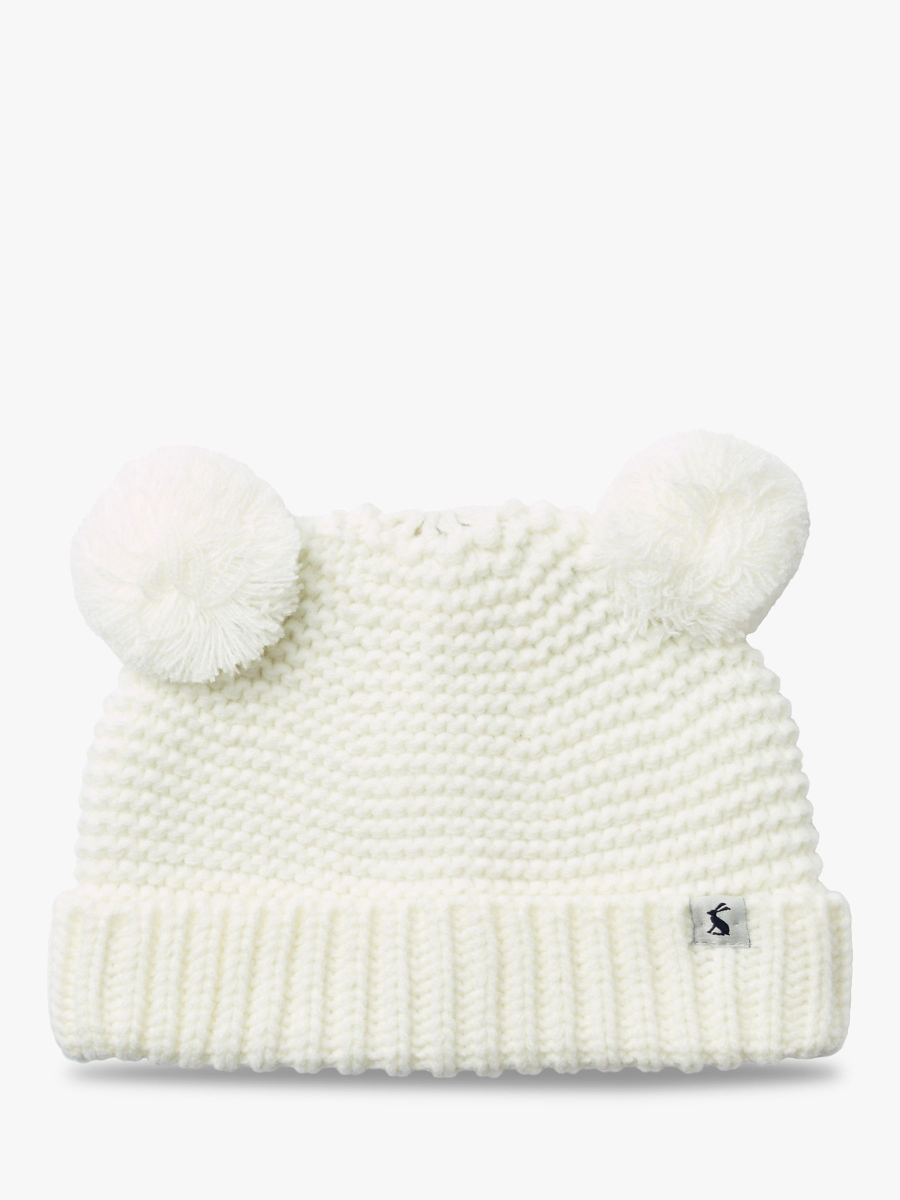 112e88a92 Baby Joule Pom Pom Hat | Cream at John Lewis & Partners