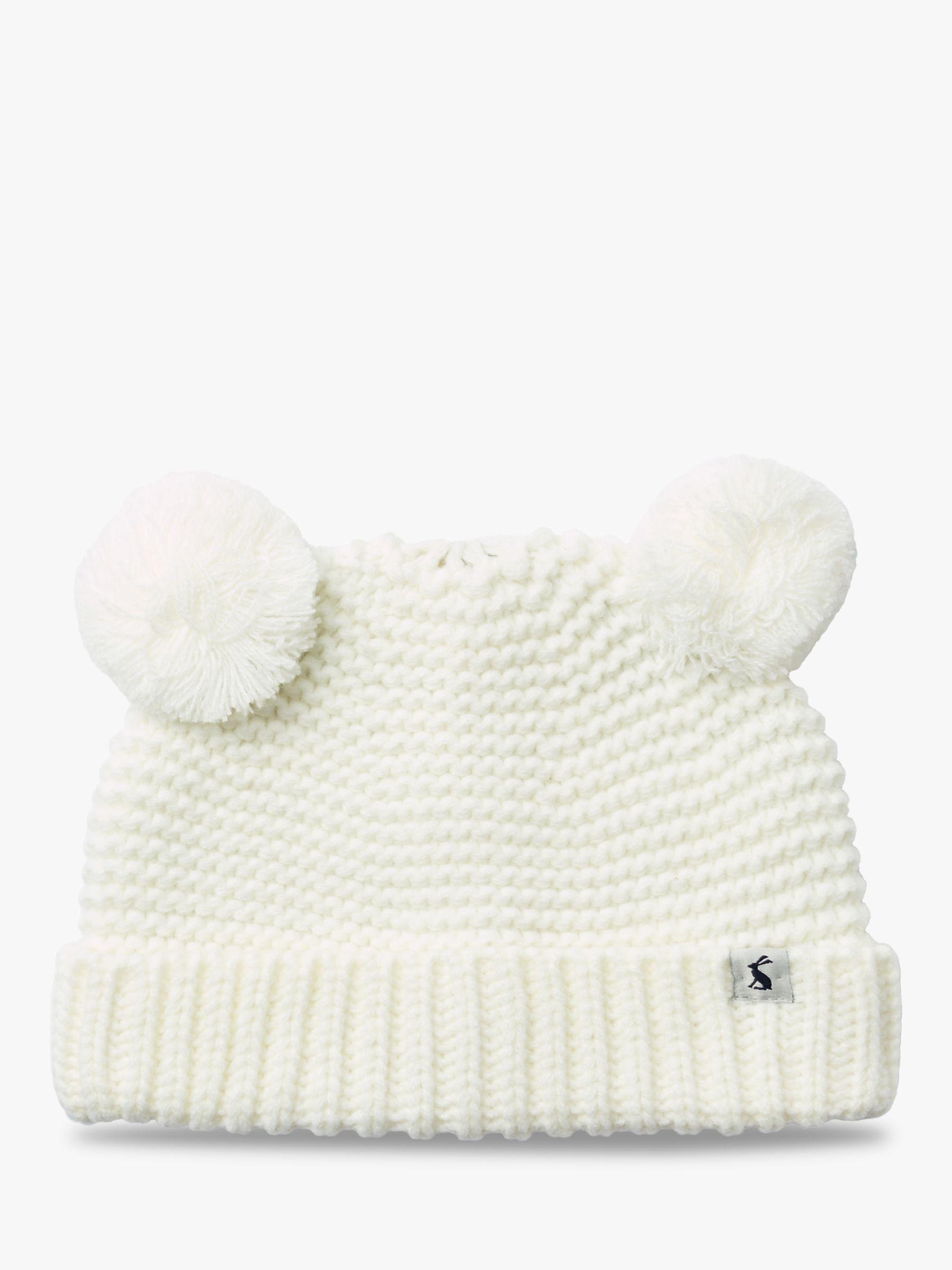8730d1f54 Baby Joule Pom Pom Hat | Cream at John Lewis & Partners