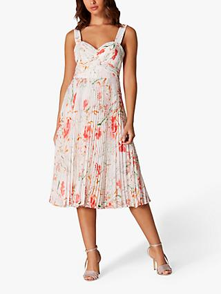 4916e9af849b2 Karen Millen Floral Pleated Dress