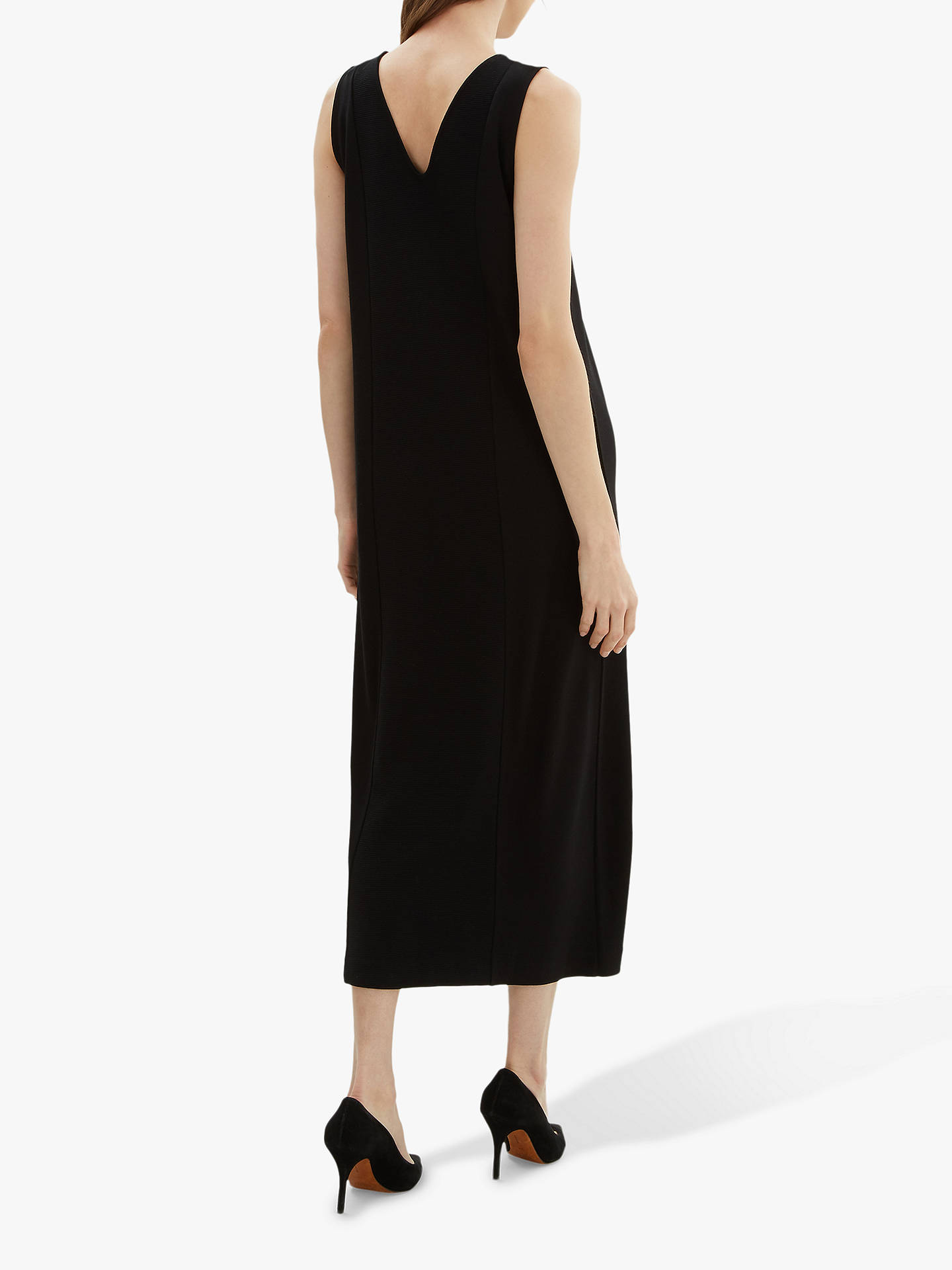 46efd4917b23b ... Buy Jaeger Ottoman Maxi Dress, Black, S Online at johnlewis.com ...