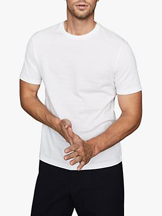 Reiss Ford Stripe Weave T-Shirt