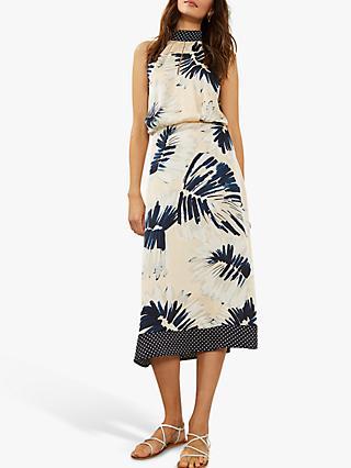 030a6710db Mint Velvet Summer Print High Neck Dress