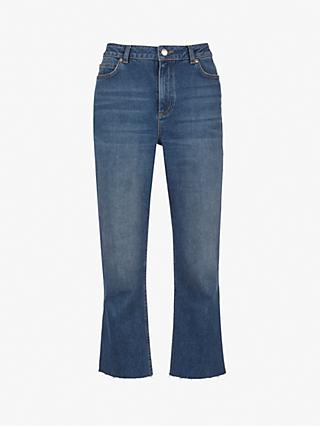 Mint Velvet Meribel Straight Jeans, Dark Blue