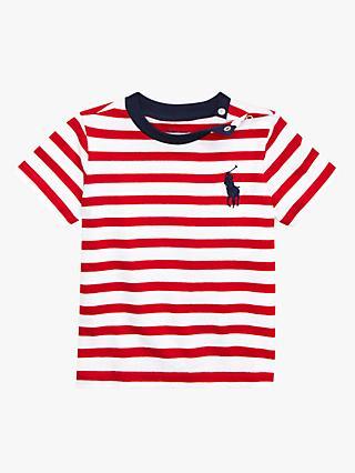 f266cbfa5 Polo Ralph Lauren Baby Stripe T-Shirt