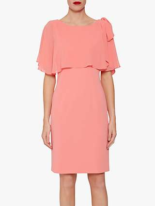 Gina Bacconi Krissy Cape Dress