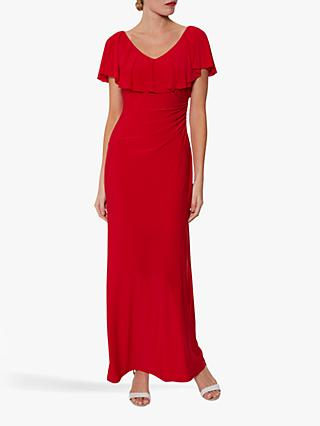 Gina Bacconi Bellina Frill Maxi Dress