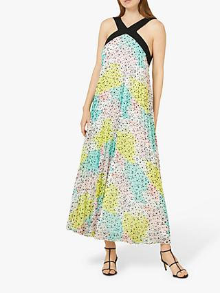 Finery Dakota Pleated Dress, Multi