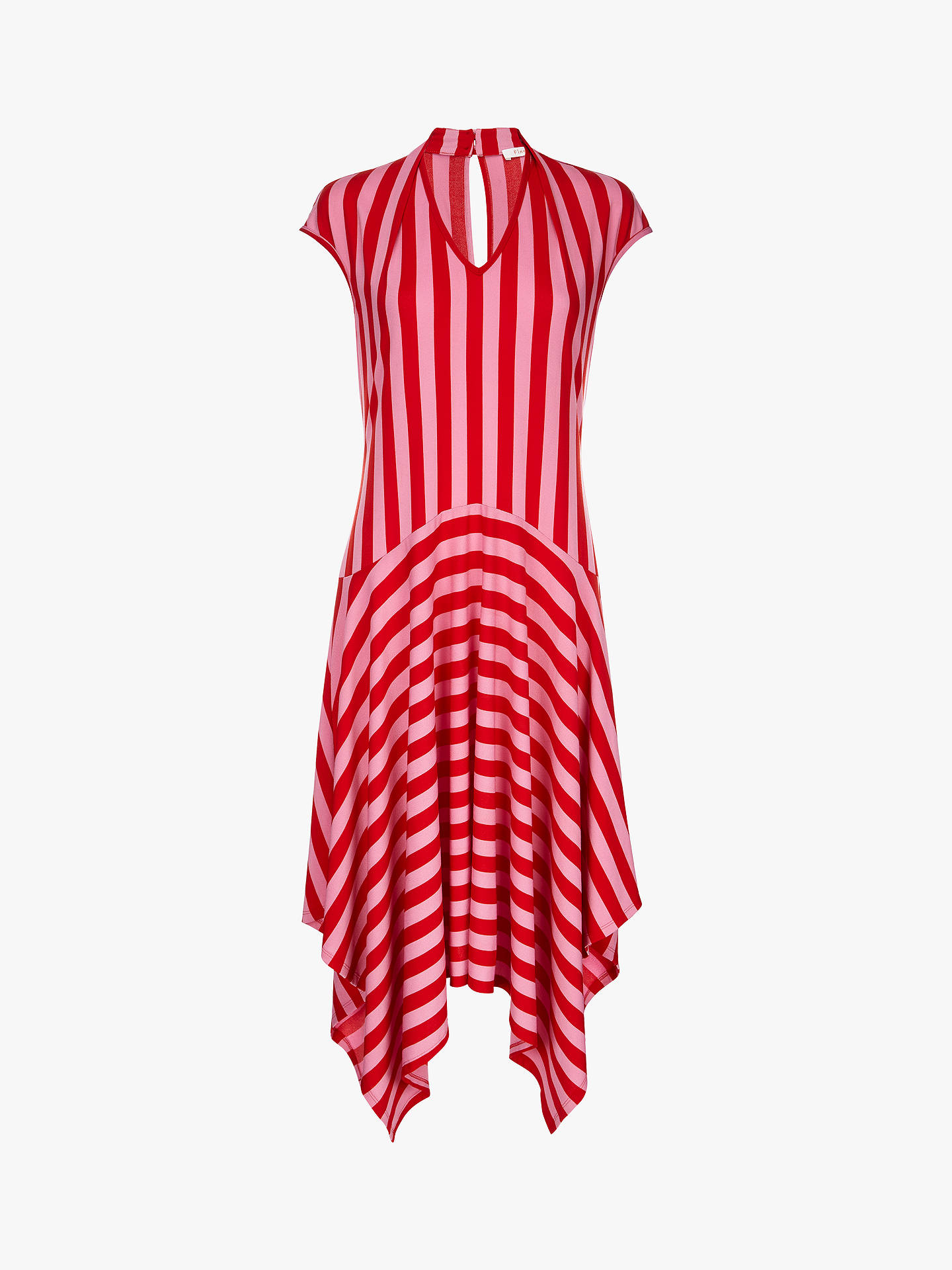 Buy Finery Bailey Stripe Dress, Multi, 12 Online at johnlewis.com