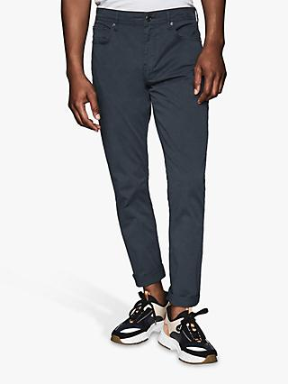 Reiss Pistol Five Pocket Slim Fit Trousers