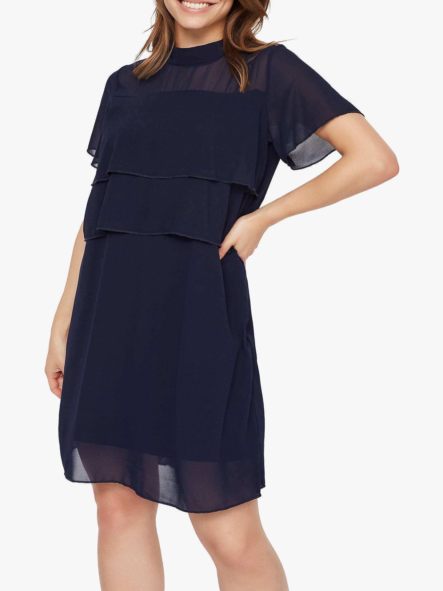 990b3cf340b Buy Mamalicious Mljana June Maternity Nursing Dress, Navy Blazer, 10 Online  at johnlewis.