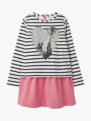 Rods Girls Pink Lace Sequin Show Vest