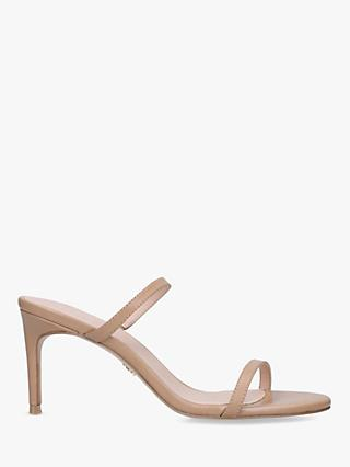 Kurt Geiger London Petra Leather Stiletto Sandals