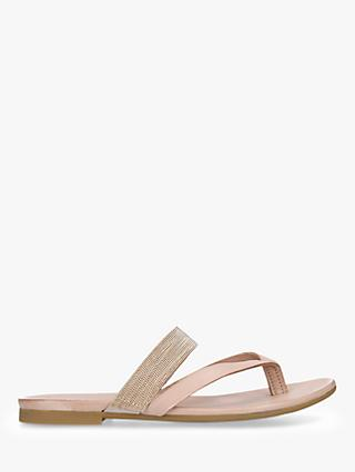 93f61eef9827 Kurt Geiger London Mae Leather Toe Thong Sandals