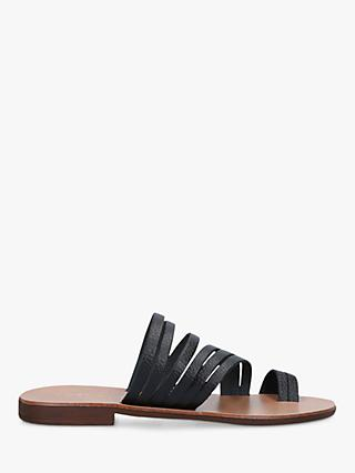 Kurt Geiger London Deliah Multi Strap Flat Sandals