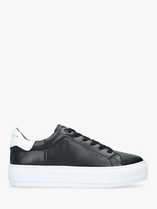 Kurt Geiger London Laney Lace Up Leather Trainers