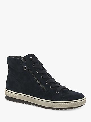 Gabor Bulner Suede High Top Trainers