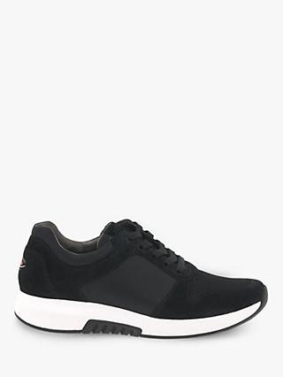 Gabor Mary Wide Fit Suede Lace Up Trainers