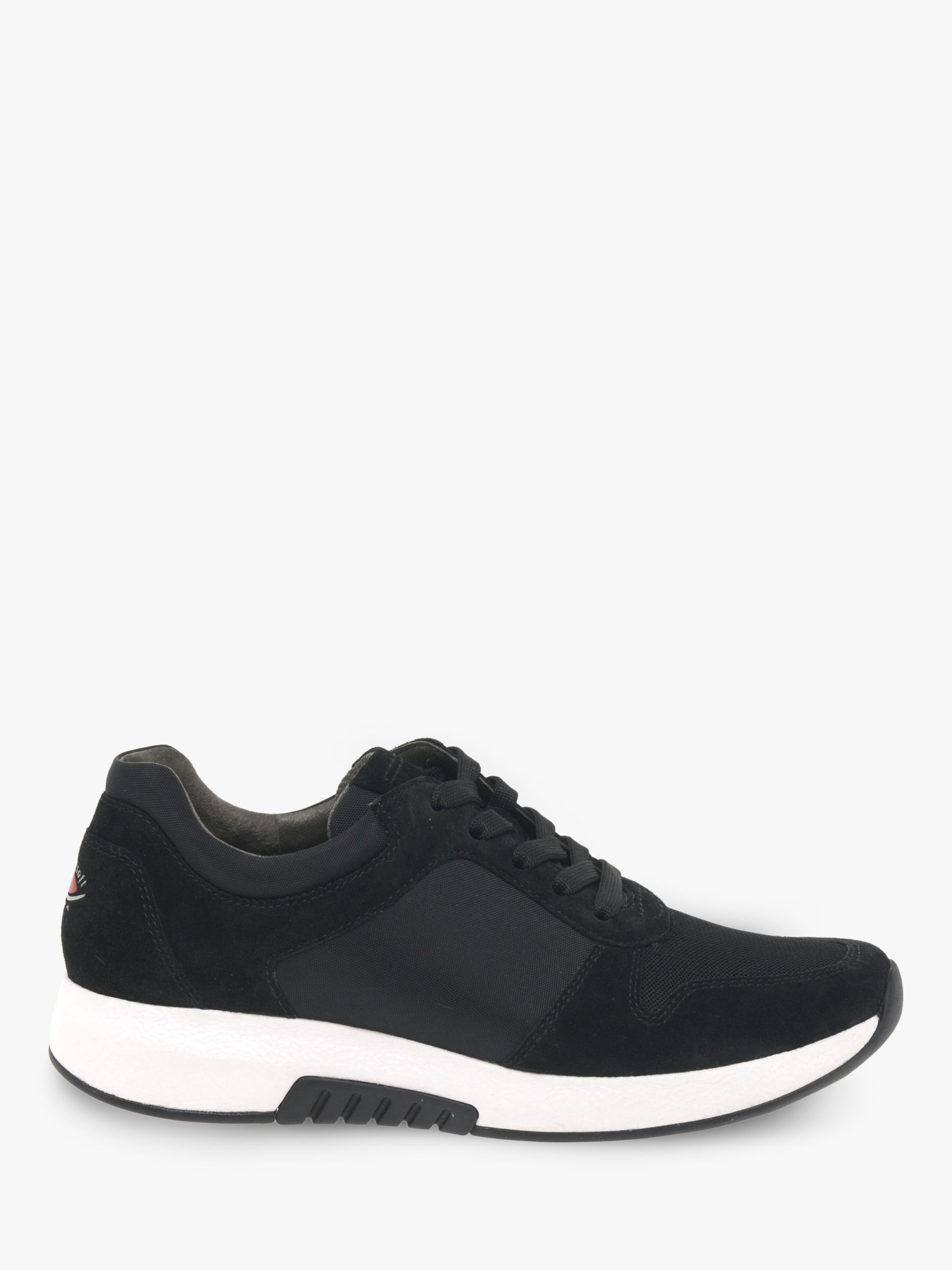 Gabor Gabor Mary Wide Fit Suede Lace Up Trainers