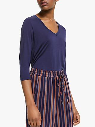 ARMEDANGELS Olivaa Top, Evening Blue