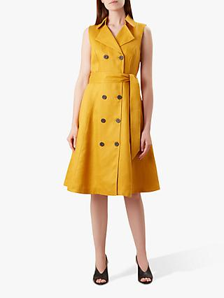 Hobbs Sabina Dress, Yellow