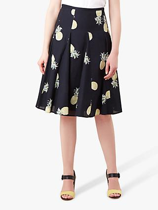 Hobbs Melina Skirt, Navy/Multi