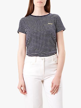 0673790590160 Hobbs Emmaline Cotton T-Shirt