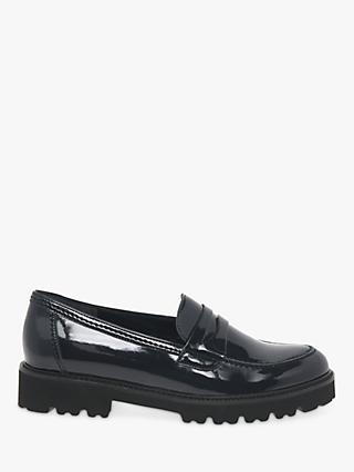 Gabor Simone Low Block Heel Loafers