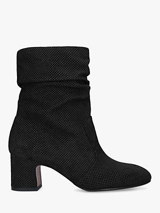 719e0e53a Chie Mihara Edil 35 Block Heel Suede Ankle Boots