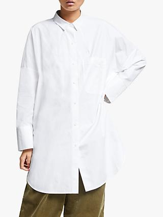 Kin Oversized Shirt, White