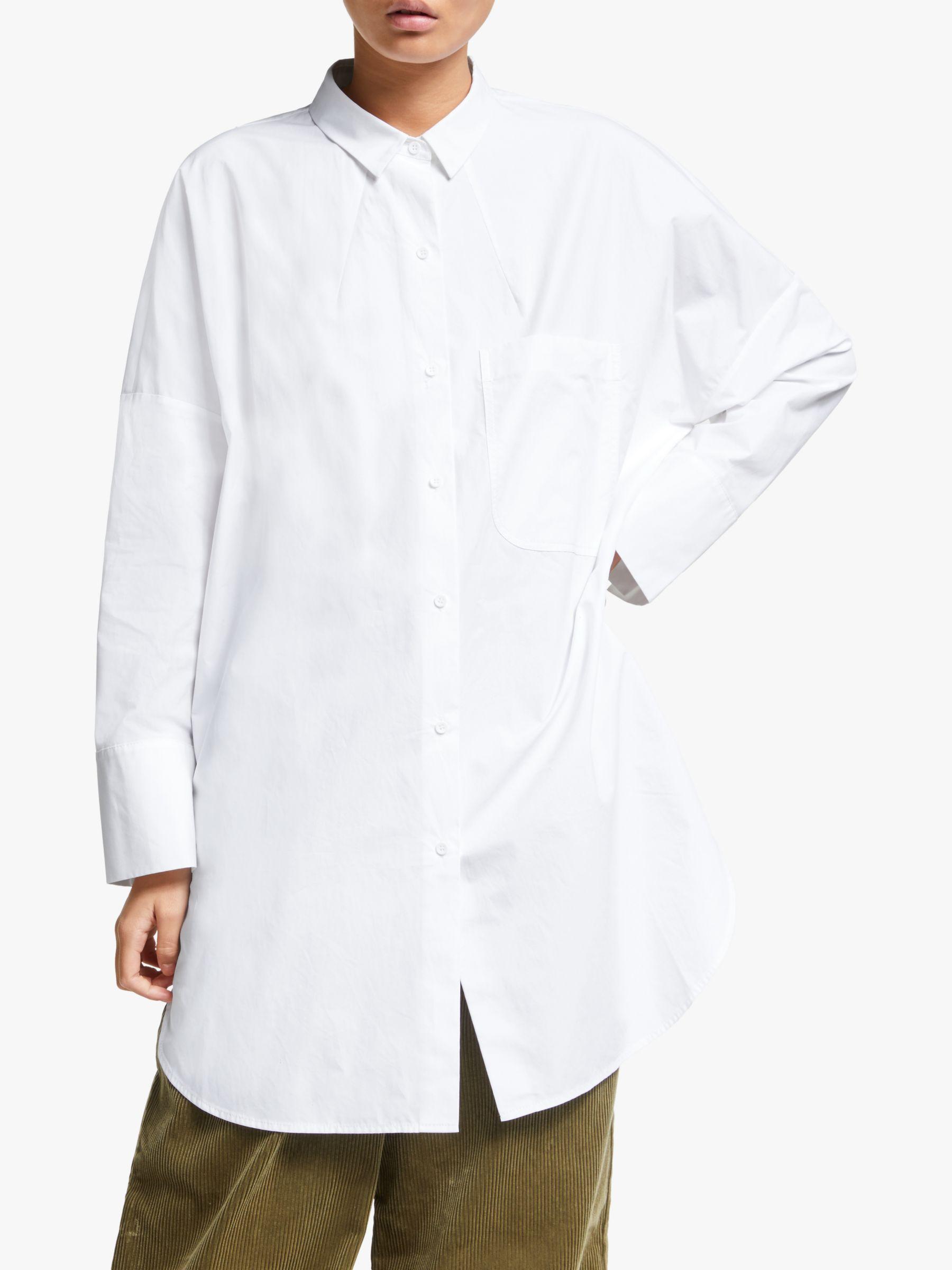 Kin Kin Oversized Shirt, White