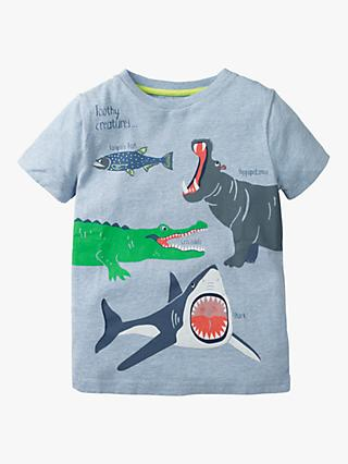 Reasonable Mini Boden Boys Applique T-shirt Top Short Sleeeve Animals Guitar Plane 2-14 Year-End Bargain Sale T-shirts, Tops & Shirts