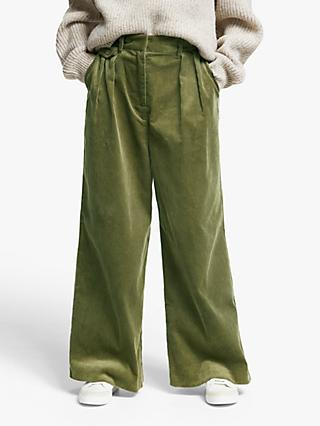 Kin Wide Leg Cord Trousers
