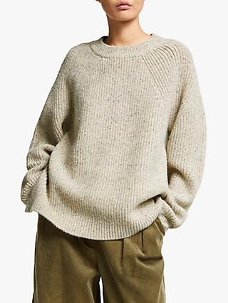 Kin Donegal Fisherman Knit Jumper