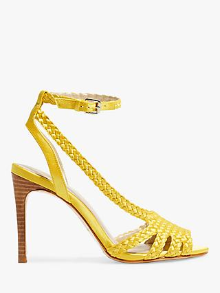 Karen Millen Woven Stiletto Heel Sandals