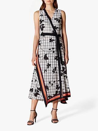 5fcee06dce Karen Millen Check Floral Dress