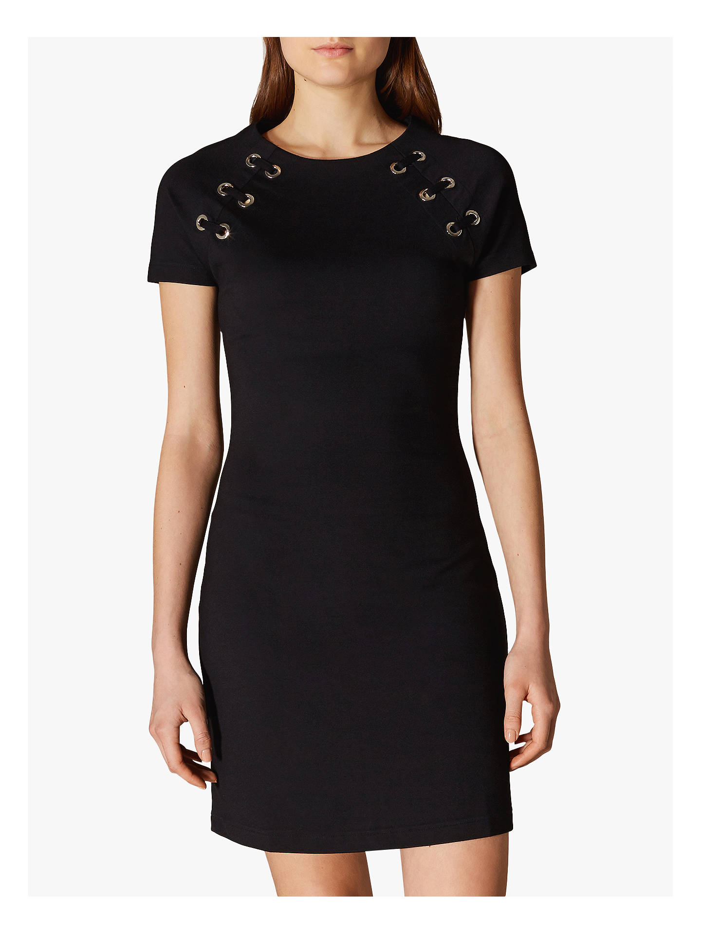d9e0a8e0872 Buy Karen Millen Eyelet Detail Bodycon Dress