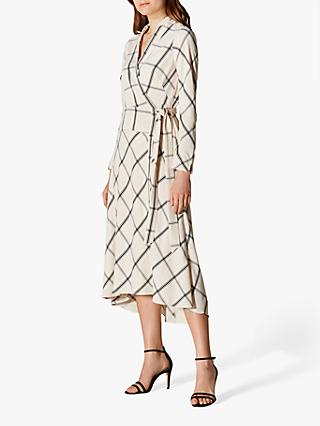 df24a7497ba Karen Millen Check Midi Dress