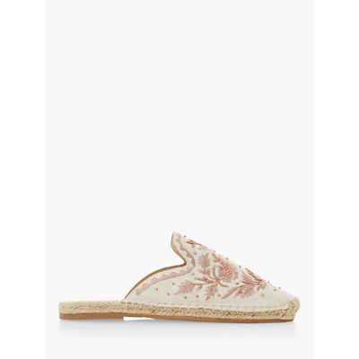 Product photo of Bertie goste canvas embellished mules