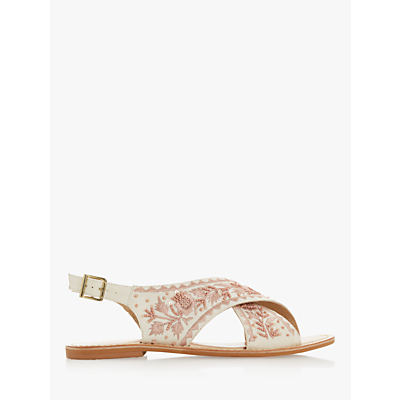 Product photo of Bertie luchia canvas embellished sandals
