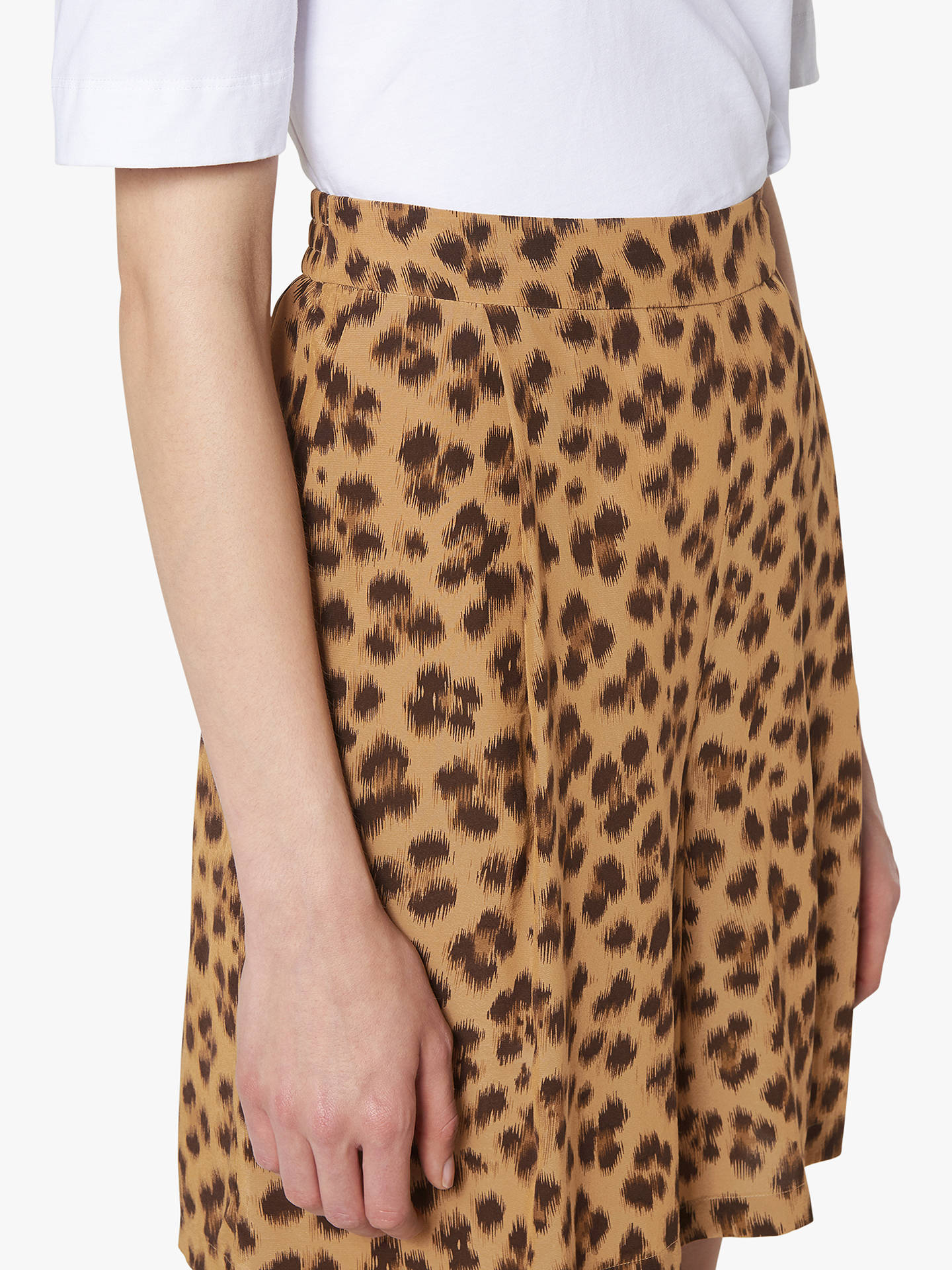 Buy L.K.Bennett Roman Leopard Print Shorts, Brown, 6 Online at johnlewis.com