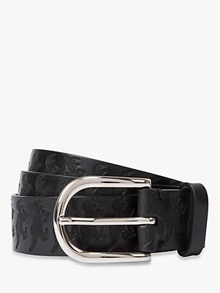 03a1ace57c6 Paul Smith Dino Embossed Leather Belt