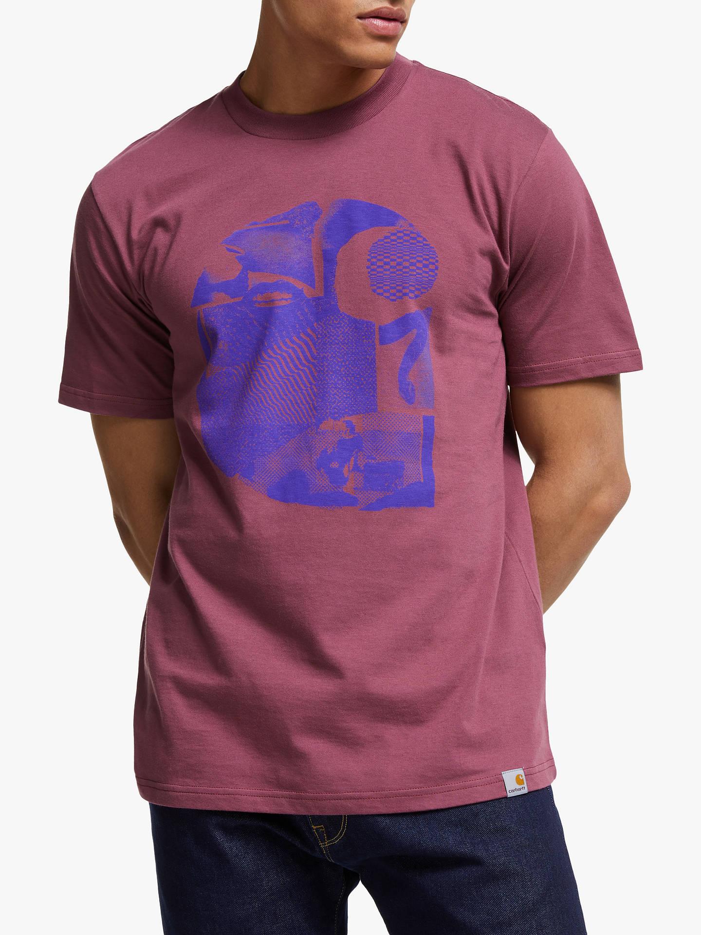 92bead4dcc2ac Carhartt WIP Cut Out T-Shirt, Dusty Fuchsia