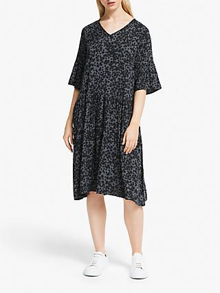 Numph Jemsa Spot Print Dress, Gargoyle