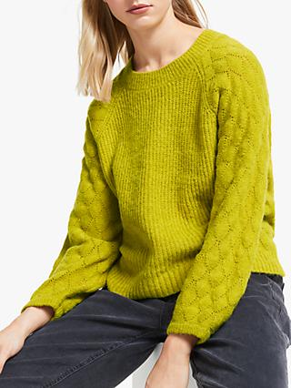 Numph Lillias Jumper, Golden Olive