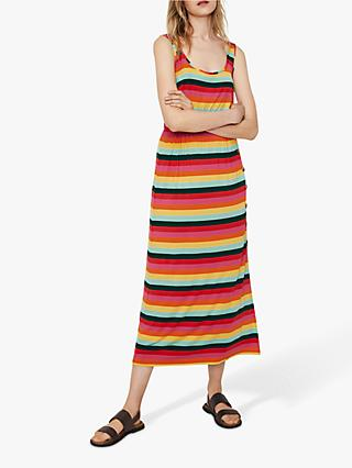 Warehouse Niko Stripe Dress, Multi